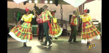 Heritage Dancers perform at the Festival of Arts held in honour of the late local Cultural Icon Hon Delores Lettsome-Christopher at Queen Elizabeth II Park on November 2, 2019. Photo: JTV