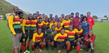 New comers Lion Heart proved themselves as worthy challengers of the BVIFA Festival Cup. Photo: VINO