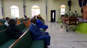 The funeral for 'Teacher B' and 'Teacher Bev', as she was fondly referred to by many, was held at the Sanctuary of Hope New Testament Church of God in her home town, Valley, Virgin Gorda. Photo: VINO