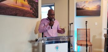 Director of the BVI Tourist Board, Mr Clive McCoy said special emphasis was put into making Lobster Fest 2020 a special one. Photo: VINO