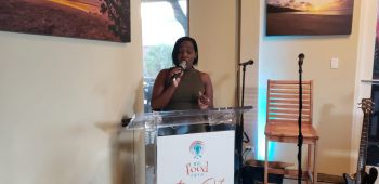 Chairperson of the Board of Directors of the BVI Tourist Board and Film Commission, Mrs Kenisha A. Sprauve said when the COVID-19 pandemic happened, the team at BVITB was challenged to plan the event with the COVID-19 protocols in mind. Photo: VINO