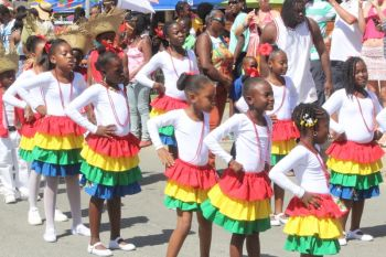 Scenes from the 2014 Virgin Gorda Easter Monday Easter Festival Parade in Spanish Town on April 21, 2014. Photo: VINO