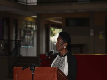 Honourable Delores Christopher, Fifth District Representative, has urged the government to investigate allegations that banks are quickly selling peoples' properties for defaulting in payments following the hurricanes of September 2017. Photo: VINO
