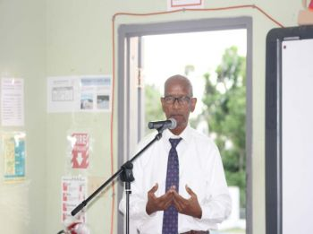 Dr The Honourable D. Orlando Smith (AL), Premier and Minister of Finance stated during the sixth district consultation meeting that his government approved the purchase of a new communication system for the Department of Disaster Management (DDM). Photo: VINO
