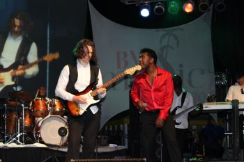 Scenes from the final night of the 2013 BVI Music Festival at Cane Garden Bay. Photo: VINO