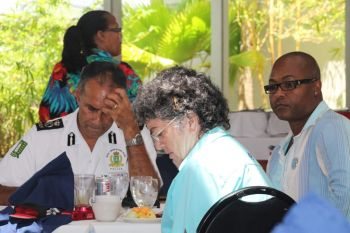 While she continues on those beats she has approached the Rotary Club of Tortola for their support of a new initiative that will be unique. It seeks to raise funds to kick-start her recognition programme. Photo: VINO
