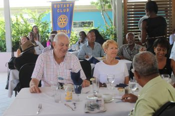 Rotarians at the event on Thursday night August 28, 2014. Photo: VINO