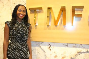 Just after graduating from High School in 2008, our Young Professional started working at TMF BVI Ltd (formerly Equity Trust) as a Receptionist. It's a job she calls an enjoyable one executed among persons who she describes as being her 'second family'. Photo: VINO