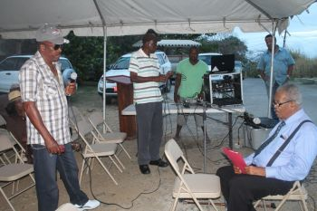 The matter came to the forefront at a recent community meeting of residents of Virgin Gorda and Ninth District Representative Honourable Ralph T. O'Neal OBE, on Sunday April 13, 2014.