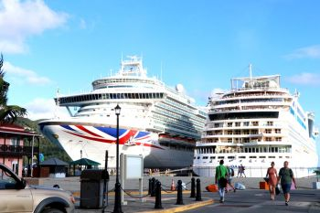 Cruise ship calls to the Virgin Islands have been banned for a month, effective March 14, 2020. Photo: VINO/File