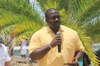Eighth District Representative Hon. Marlon A. Penn, one of the sponsors of the show, commented that the Exquisite Boat Show complements the Territory's tourism product. Photo: VINO