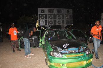 Car on show and in sound-off competition. Photo: VINO