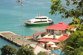 Premier Andrew A. Fahie (R1) has said new port enhancements will be advanced for improved access to Virgin Island's many ports of entry. Photo: VINO/File