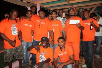 Some eight cars participated in the sound-off this year with six from Tortola and two from Virgin Gorda. Photo: VINO