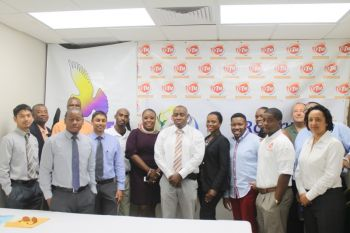 The focus areas of the seminar included Gender Equity to be done by Mrs. Karia J. Christopher, Social Media to be dealt with by Mr. Gordon French, Leadership by Miss BVI 2014 – 2015 Ms. Jaynene Jno Lewis, Anger Management by Pastor Melvin 'Mitch' Turnbull, Tattoo And Piercing by Mr. Julien Johnson and Don't Write How You Speak by Mr. Kareem-Nelson Hull. Photo: VINO