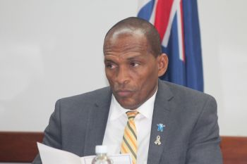 On the issue of the removal of the Deputy General Manager of the BVIEC Mr Henry O. Creque, Honourable Vanterpool further confirmed that no concrete decision has been made as to exactly where they will be putting him. Photo: VINO