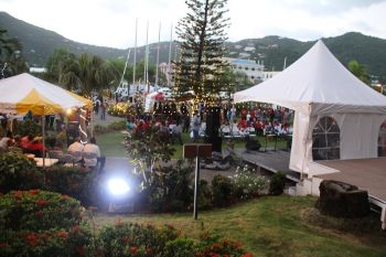 The 4th annual Premier's Christmas around the World took place on the compound of Central Administration Complex. Photo: VINO