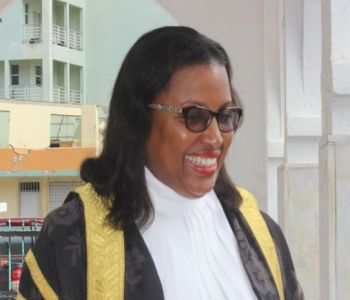 Speaker of the House of Assembly, Honourable Ingrid A. Moses-Scatliffe urged members of the House of Assembly to arrive to the House of Assembly sitting on time and be consistent. Photo: VINO
