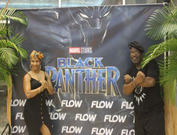More scenes from the premiere of Black Panther on Friday, March 9, 2018. Photo: VINO