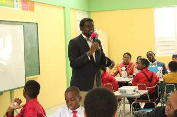 Principal of the BVI Seventh-day Adventist School, Mr Wade W Tobin said the school plans to make the leadership development event an annual one. Photo: VINO