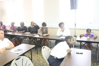 The participants learned the details with regard to making an application for the grant and follow up requirements following the receiving of a grant. Photo: VINO