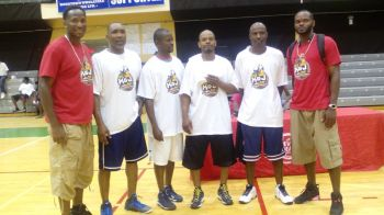Champions of the Over 40 Division, Unity. Photo: VINO