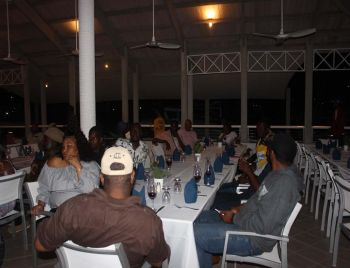 Scenes from the BVI Electricity Corporation (BVIEC) appreciation dinner hosted by Digicel. Photo: VINO