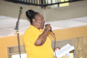 According to Principal, Marieta Flax-Headley, the event which is usually held on the Saturday before Commonwealth Day was moved to Friday to encourage more student participation. Photo: VINO