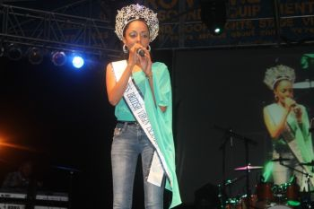 Miss BVI 2013 Rosanna K. Chichester has been making public appearances as expected to but has been doing so using her personal finances and other resources. Photo: VINO