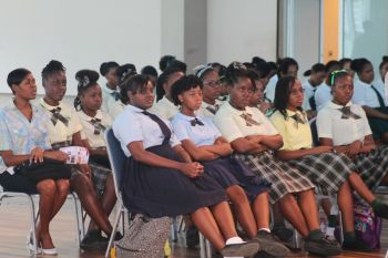 The issue of showing respect for their school uniforms has been a continuous concern for many students in the school system who feel that they a few bad apples continue to spoil the image of the whole basket and this they had shared publicly at both of the youth forums recently held on Tortola and Virgin Gorda by the Rotary Club of Tortola and at the most recent 'I am a lady' workshop/seminar held by Follow the Movement (FTM). Photo: VINO