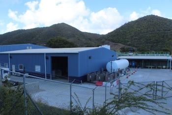 The Biwater plant at Paraquita Bay, Tortola. The deal by the Virgin Islands Party was demonised by the National Democratic Party (NDP), who is now facing similar criticisms with the airport runway extension project. Photo: VINO/File