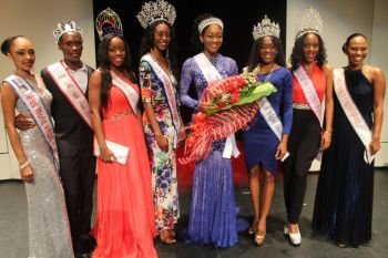 There were many royalties in the house at the Miss World BVI 2015 pageant, including the reigning Miss BVI Adorya R. Baly and former Miss World BVI Kirtis Kassandra Malone (right)