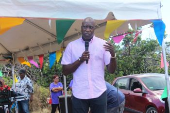 Honourable Myron V. Walwyn (AL), Minister for Education and Culture, expressed that the festival was held for two reason: it serves as an economic stimulus and it celebrates the territory's culture which is all part of the recovery efforts. Photo: VINO