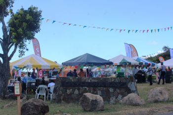 Virgin Gorda Easter Festival Food Fair saw support from persons within the community. Photo: VINO