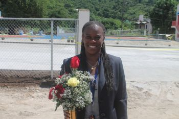 Assistant Secretary Lorna Stephens has been recommended by Minister for Education and Culture Honourable Myron V. Walwyn for a promotion. Photo: VINO