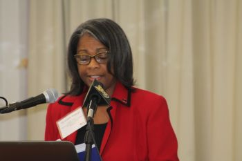 Project Officer Delegation of the EU to Barbados and the Eastern Caribbean, Barbados Ms Camille Wildman. Photo: VINO