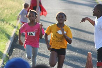 9 and 10 year olds will be doing a one-mile run instead of two miles. Photo: VINO/File