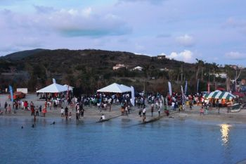 Scenes from the Virgin Gorda Easter Festival Beach Picnic and Fun Day on April 2, 2018. Photo: VINO
