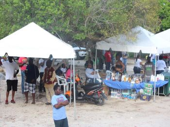 Scenes from the Fisherman's tournament held on Sunday, July 16, 2017 in Long Bay Beach, Beef Island. Photo: VINO