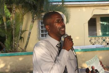 """In a comment to this news site today, Honourable Fahie said that all can expect to hear from Ms Stoutt how to stay true to themselves and their dreams. """"Be persistent in your efforts to achieve your dreams. Always believe that with God you can achieve excellence and beyond,"""" he said. Photo: VINO"""