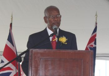 Premier Dr The Honourable D. Orlando Smith said the opening of the cruise pier marked a new beginning for the industry, a journey that began less than a year ago on May 8, 2014 with the ground breaking ceremony for the expansion of the cruise pier project. Photo: VINO