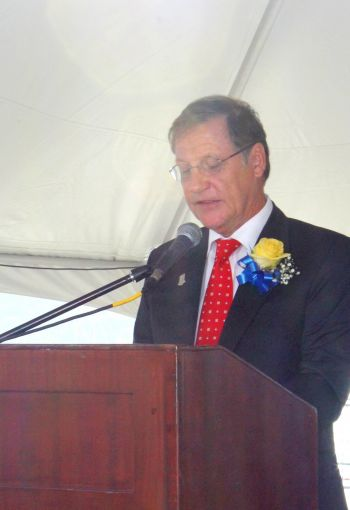 Governor John S. Duncan OBE on March 16, 2017 announced that he was exercising his reserved powers in the 2007 Virgin Islands Constitution to ensure additional funding for the Royal Virgin Islands Police Force (RVIPF). Photo: VINO/File