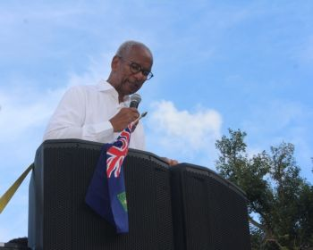 Premier and Minister of Finance, Dr The Honourable D. Orlando Smith (AL), emphasised that the decision taken by the UK is 'not right', while adding that it 'threatens' the territories way of life. Photo: VINO
