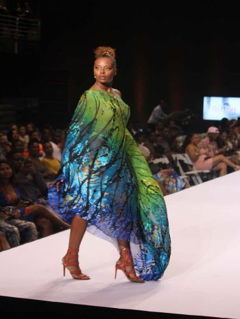 Continuing the recent trend of the show being hosted by celebrities, Eva Marcille, winner of America's Next Top Model Cycle 3, TV host and actress was the host of the night.
