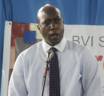 During his address to prison officers at a recent commendation ceremony, Minister for Education and Culture Hon. Myron V. Walwyn acknowledged there is an issue of space that exists at Her Majesty's Prison. Photo