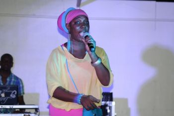 Reigning Calypso Monarch Sister Joyce to come done hard on politicians with 'Who it hurt it hurt'. Photo: VINO