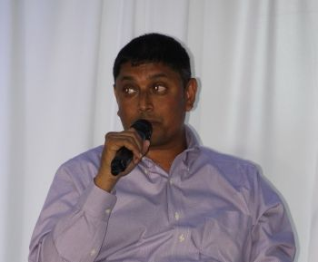 Managing Director of Nagico Insurances Shan Mohamed making a point at one of the forums. Photo: VINO