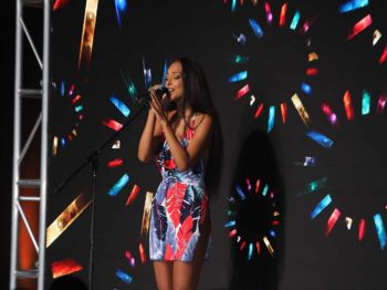 Jessica Jarrell entertained the patrons with her newest hit single, 'How Was I' and '100 Percentin'. Photo: VINO