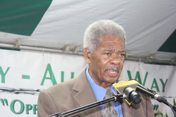 Representative for the Ninth District Honourable Ralph T. O'Neal OBE endorsed JoAnn 'Roxie' Romney. Photo: VINO