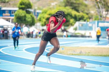 At just 17-yrs-old, Ms Zara A. Brown who hails from Pockwood Pond has flown the VI flag continuously as she represents the Territory internationally on the Track and Field front. Photo: Provided